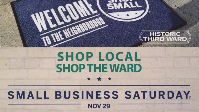 Small Business Saturday - Milwaukee's Historic Third Ward - Shop Local