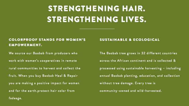 Baobab Strengthing Hair