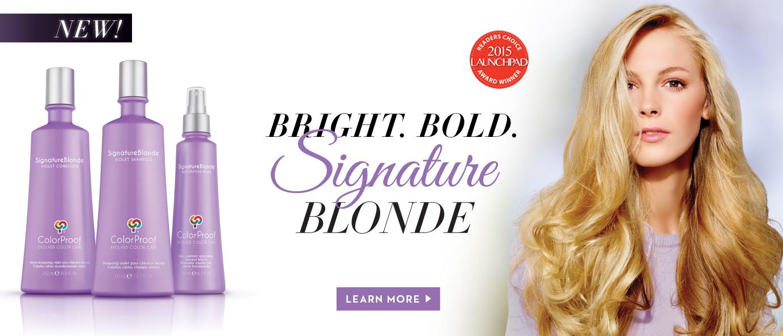 SignatureBlonde ColorProof