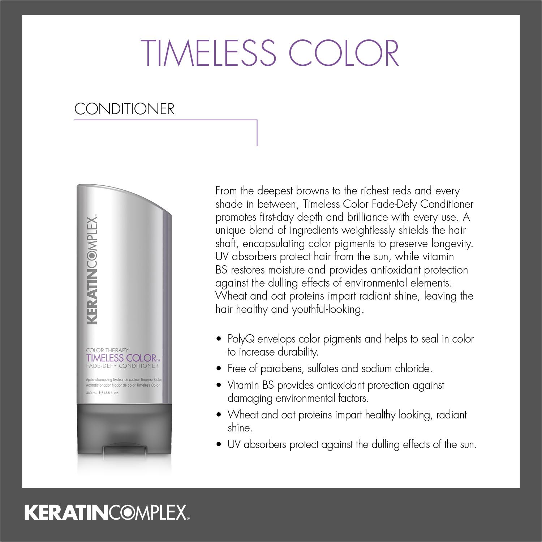 Keratin Complex Timeless Color
