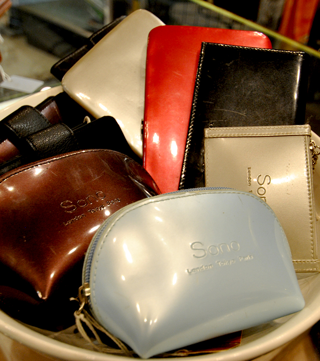 Womans Luxury Leather Summer Sale at St. James Place