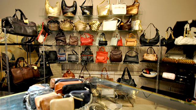 Woman's Luxury Leather Summer Sale at St. James Place