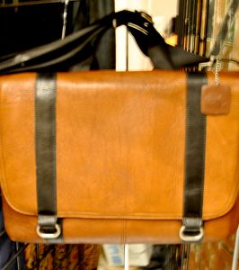 Men's Leather Carry On Travel Bag on Sale at St. James Place