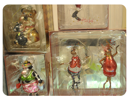 Jingles and Joy ~ Blown Glass Ornament SALE