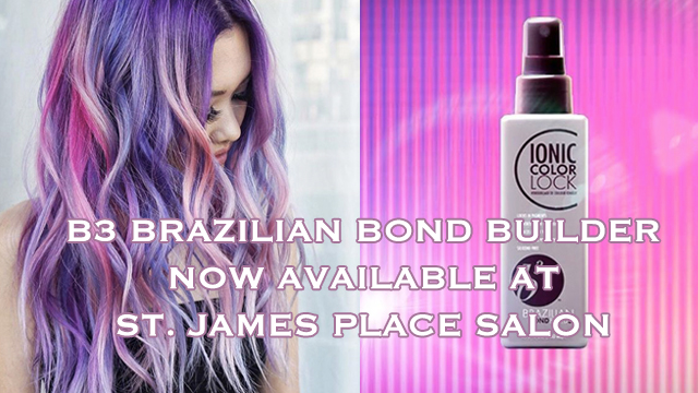 Brazilian Bond Build Now Available at St. James Place Salon